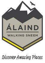 Álaind Walking Logo