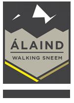 Álaind Walking Logo