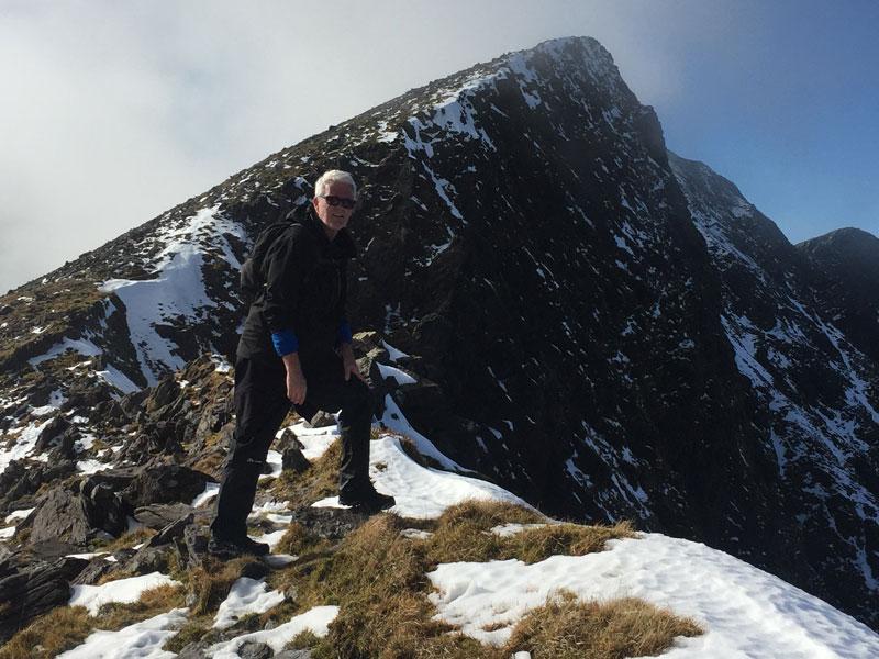 Caher Ridge Overlooking Coomloughra Horseshoe