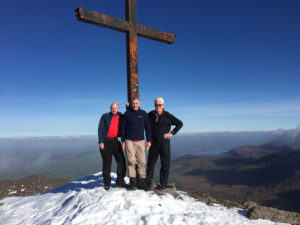 Carrauntoohil Conquerers with Heavenly Views