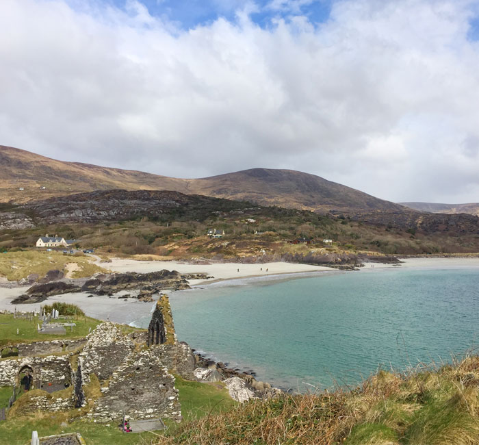 Derrynane Beach on The Kerry Way