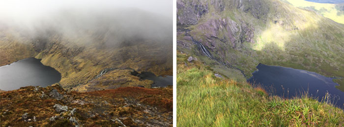 Walking in Kerry in Winter and Summer