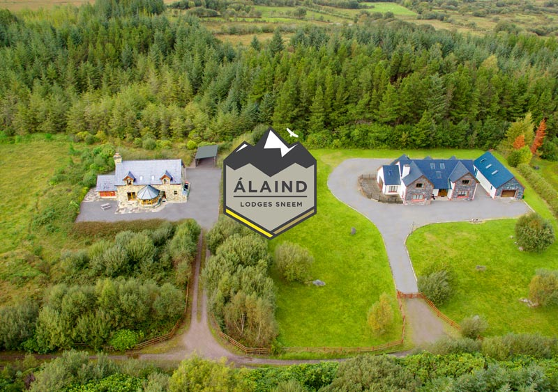 Álaind Lodges Accommodation for Dunkerron Walking Holiday