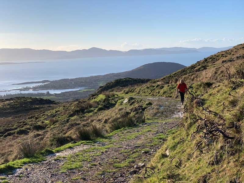 Coastal Views from The Kerry Way