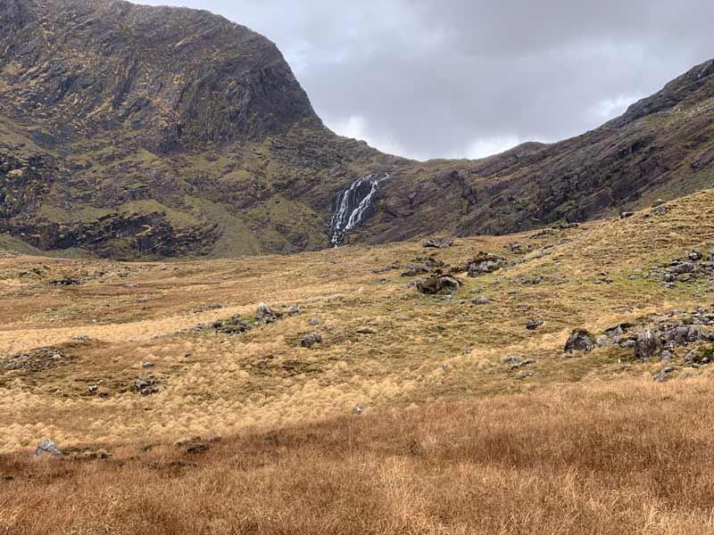 Coomanassig Waterfall on Sneem Hills Walking Holiday