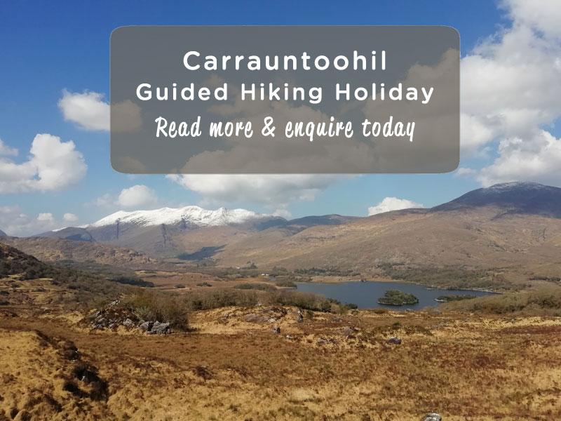 Carrauntoohil Walking Holiday Advert