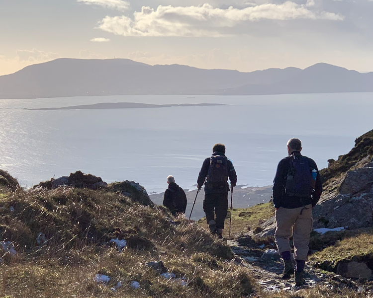 Spectacular Kenmare Bay Views from Dunkerron Mountains