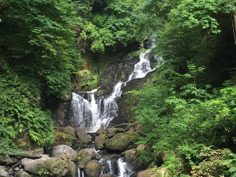 Torc Waterfall on Álaind Walking's Kerry Way Holiday
