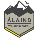 Alaind Walking Logo