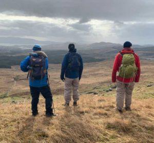 Walking in Kerry Mountains