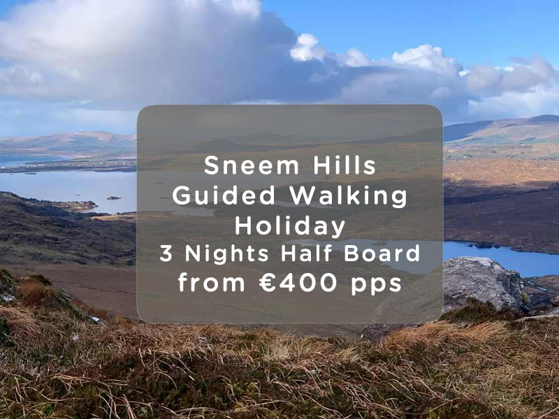 Sneem Hils Guided Walking Holiday Offer