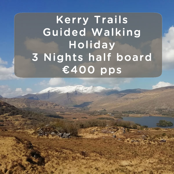 kerry trails walking holiday gift voucher