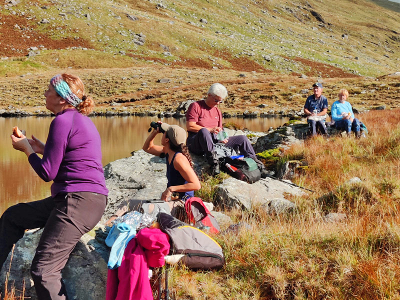 Lunch at Coomnacronia Lake